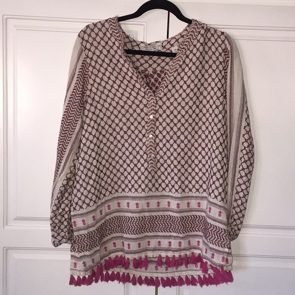07dc82bdb2d Scotch & Soda Tops | Maison Scotch Soda Pineapple Tunic Shirt Top ...